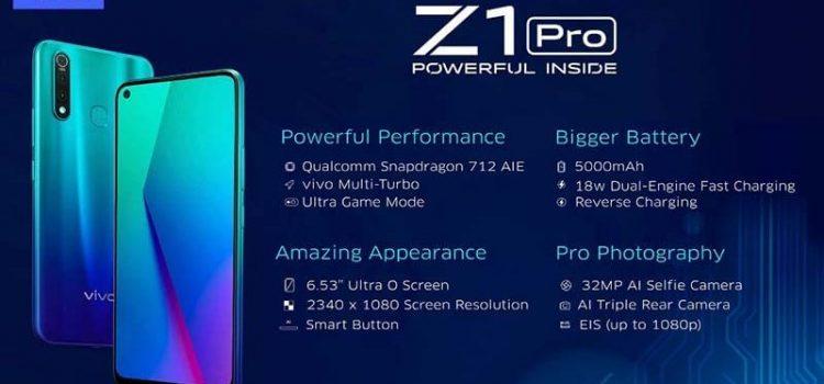Harga VIVO Z1 Pro Terbaru 2022